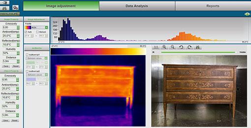 microonde termografia a infrarosso